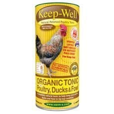 Keep-well natural pelleted poultry tonic